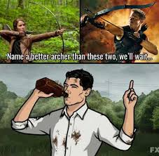 Archer Memes - dopl3r com memes name a better archer than these two could