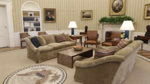 Oval Office White House White House Backs King Quote On Oval Office Rug Cbs News