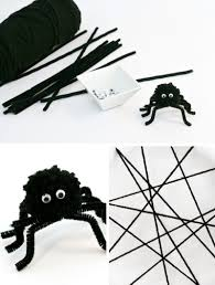 easy spider craft ideas make a fuzzy spider u0026 paper plate web