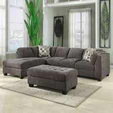chenille sectional sofas sectional couch with recliner plush