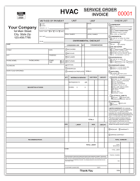 Hvac Estimate Template by Hvac Service Report Coolman Hvac Service Business