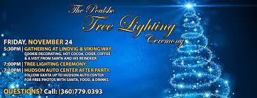 the poulsbo tree lighting ceremony home
