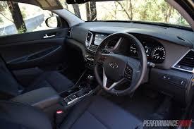 hyundai tucson interior 2017 2016 hyundai tucson 1 6t petrol vs crdi diesel comparison video