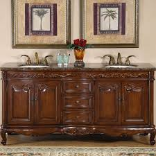 Sale On Bathroom Vanities by Amazon Com Silkroad Exclusive Baltic Brown Granite Top Double