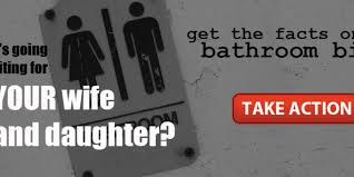 Gender Neutral Bathrooms Debate - bathroom battlegrounds and panics contexts