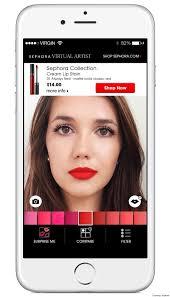 make up artist app sephora s artist app will help you find the lip