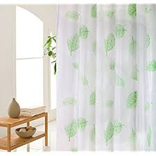 Curtains With Hooks Amazon Com Shower Curtain Liner With 12 Curtain Hooks Clear