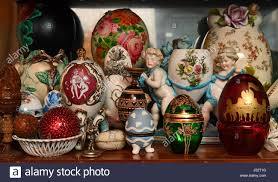 decorative eggs gotha germany 5th apr 2017 a selection of the decorative eggs