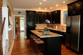 kitchen paint colors with dark cabinets best kitchen paint colors
