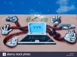 computer graffiti computer graffiti illustration stock photo royalty free image