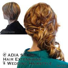 hair extensions for wedding hair extensions gallery adia salon nanaimo