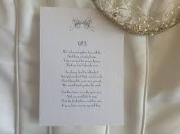 wedding gift list poems gift list poems