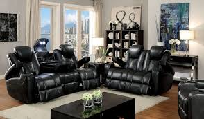 Recliner Living Room Set Furniture Stallion Reclining Leather Living Room Set