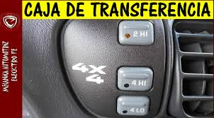 cambio de aceite de caja de transferencia 4 x 4 transfer case