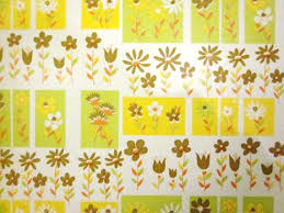 yellow wrapping paper 150 best pattern vintage gift wrap images on vintage
