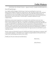 Popular Sample Cover Letter Promotion Cover Letter Police Cover Letters Police Cover Letters Police
