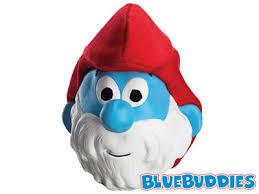Smurf Halloween Costume Smurf Halloween Costumes Brainy Smurf Mask Papa Smurf Mask Grouchy