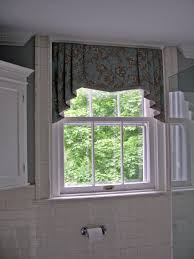 Window Valance Patterns by Shaped Valance With Banding And Contrast Lined Jabots Cathy U0027s