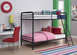 Bunk Bed With Steps Dhp Furniture Twin Over Twin Bunk Bed
