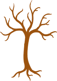 brown tree brown tree outline clip at clker vector clip online
