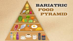 the bariatric food pyramid for wls patients obesityhelp