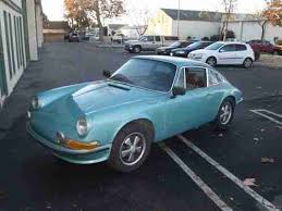 used porsche 911 california buy used 1972 porsche 911t no reserve numbers matching 911s 911e