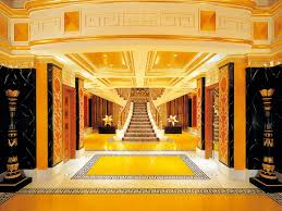 Palace Interior by Golden Palace Interior With Black Elements Desktop Wallpapers