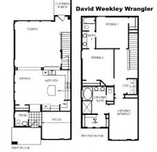 row home floor plans david weekley homes section 7 row homes mueller homes