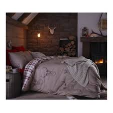 Tesco Bedding Duvet Buy Catherine Lansfield Home Cosy Corner Stag Bed Cotton Rich