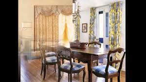 simple dining room curtains decorating ideas youtube