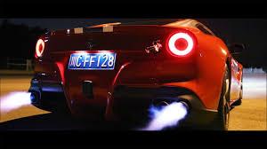 Ferrari F12 Back - havoc ferrari f12 berlinetta armytrix cat back titanium