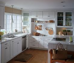 Shaker Style Kitchen Cabinet Gray Cabinets In A Shaker Style Kitchen Schrock
