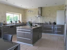 beton ciré cuisine 02 la cuisine taupe plan de travail en beton cire photo de