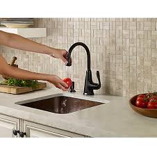 Barand Faucet Tuscan Bronze Pasadena 1 Handle Bar And Prep Faucet With Soap