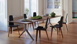 dining room tables for 12 matthew hilton overton table 10 12 seater walnut solid brass