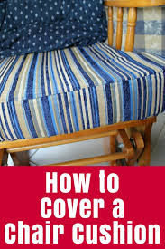 how to slipcover a chair how to cover a chair cushion the crafty mummy