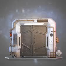 Futuristic Doors Door Texture 3d U0026 Cgaxis Door 34