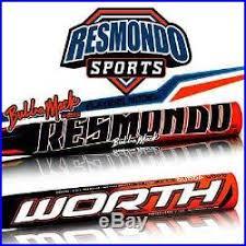 worth resmondo resmondo bubba mack players model composite slowpitch softball bat
