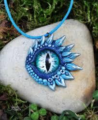 eye pendant necklace images Ice dragon eye pendant by gloriosa art jpg