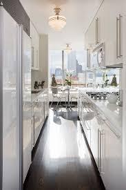 Manhattan Kitchen Design Five Ways To Keep A White On White Modern Kitchen Warm