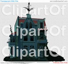 haunted house clipart free clipart creepy halloween haunted house with boarded up windows