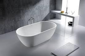 Minimalist Bathtub Modern Tub Hattie Acrylic Slipper Tub Modern Feet Bathroom