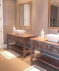 Reclaimed Wood Bathroom Vanities Rustic Bathroom Barnwood Reclaimed Wood Vanity Best 25