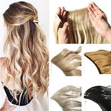 invisible line hair extensions amazon com hidden invisible flip in synthetic hair extension 20