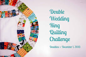 Double Wedding Ring Quilt by Double Wedding Ring Quilt Challenge U0026 Template Giveaway Amy U0027s