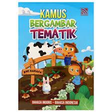 bergambar tematik b inggris b indonesia
