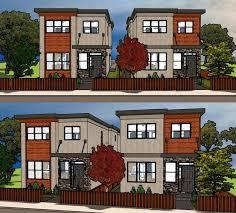 duplex plan chp 55089 at coolhouseplans com duplexes pinterest