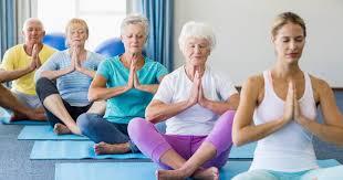 Armchair Yoga For Seniors Beginning Yoga For Seniors Livestrong Com
