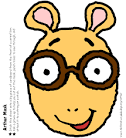 Arthur Mask. Arthur Birthday Party. PBS Parents | PBS