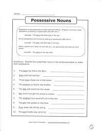 possessive nouns multiple ws